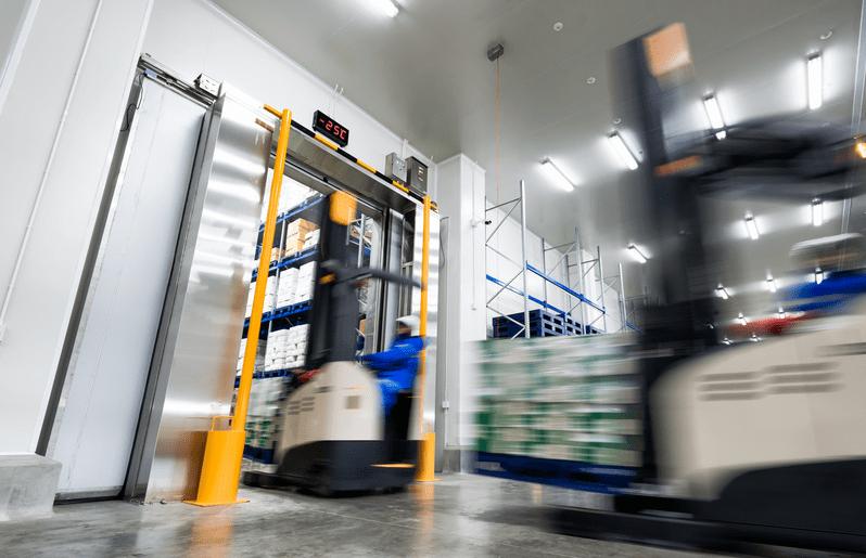 入出庫のリードタイムの短縮鮮度の高い出荷オーダーを実現