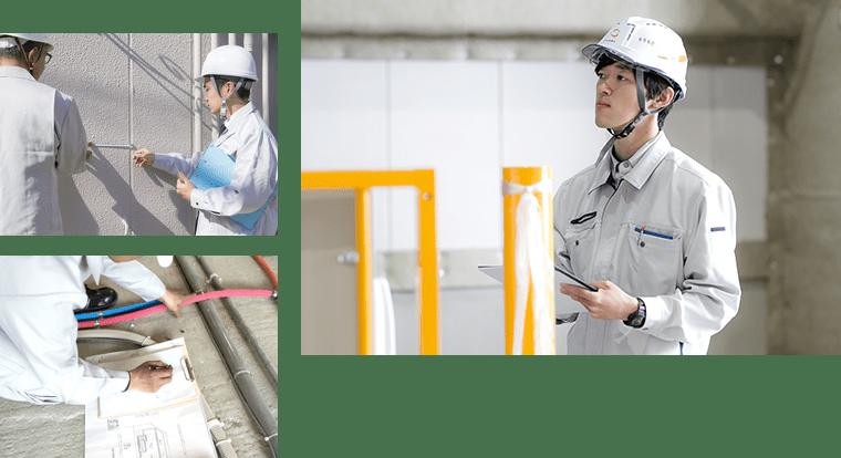 設備劣化に対応した予防保全倉庫のリフォーム
