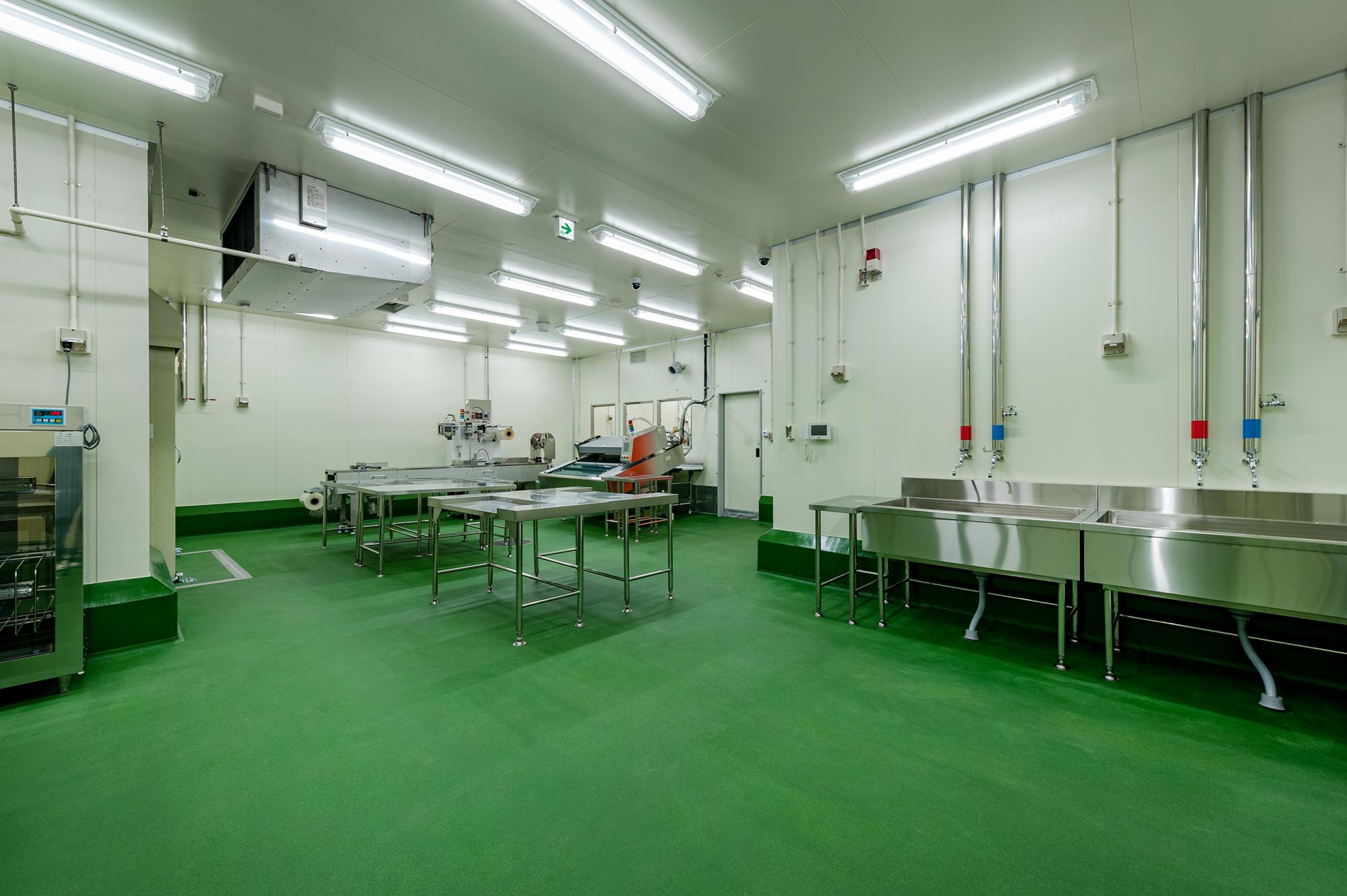 鴻池運輸株式会社 食品加工場 KIZU process center